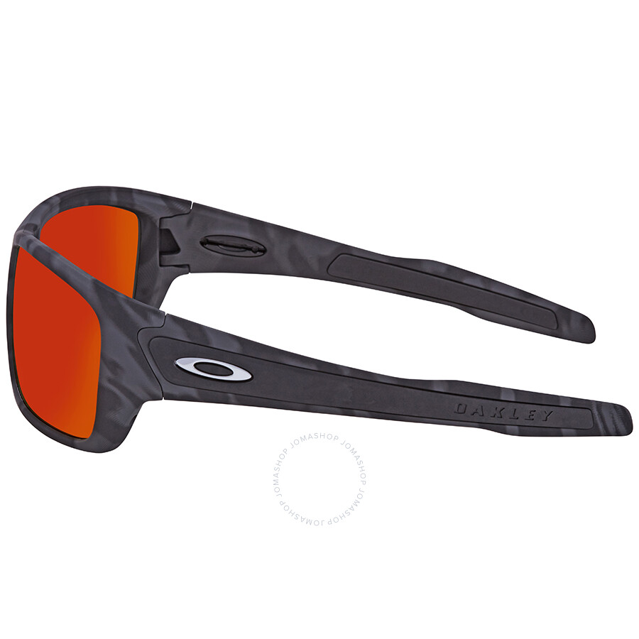 cb75a0e13f Oakley Turbine Prizm Ruby Rectangular Sunglasses OO9263 926353 63 ...