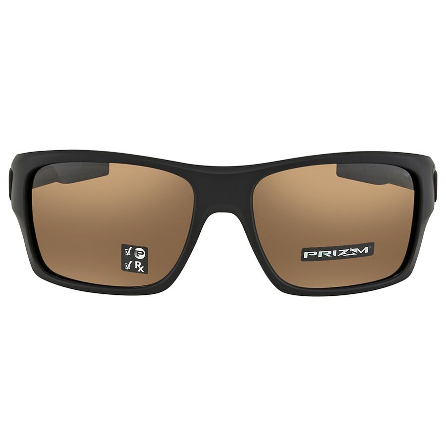 05a54c1696 ... Oakley Turbine Prizm Tungsten Polarized Rectangular Men s Sunglasses  OO9263-926340-63 ...