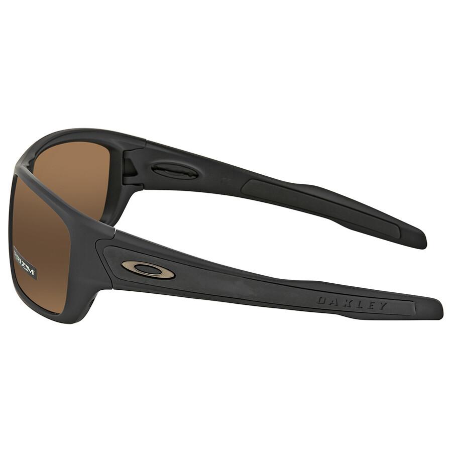 56ff33df88 ... Oakley Turbine Prizm Tungsten Polarized Rectangular Men s Sunglasses  OO9263-926340-63