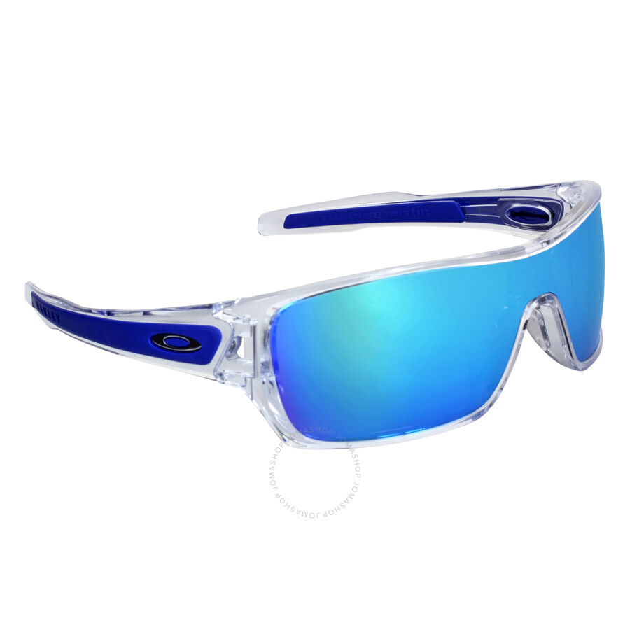86a735f7a4 ... Oakley Turbine Rotor Sapphire Iridium Blue Men s Sunglasses  OO9307-930710-32 ...
