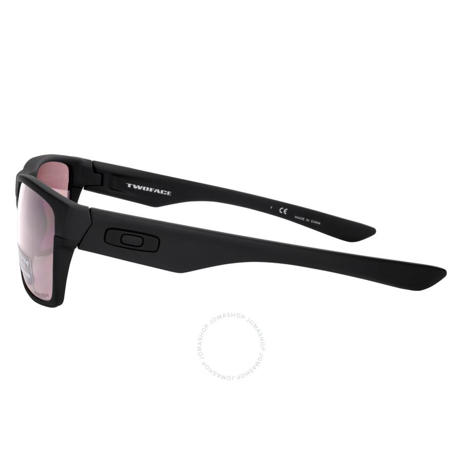 oakley twoface sunglasses matte black prizm polarized oakley rh jomashop com