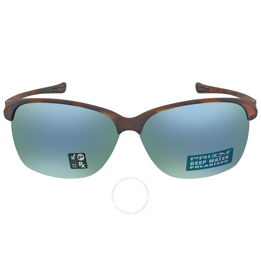 Oakley Unstoppable Prizm Deep H2O Rectangular Ladies Sunglasses 0OO9191  919118 65