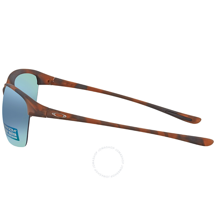81ef72d70b ... Oakley Unstoppable Prizm Deep H2O Rectangular Ladies Sunglasses 0OO9191 919118  65