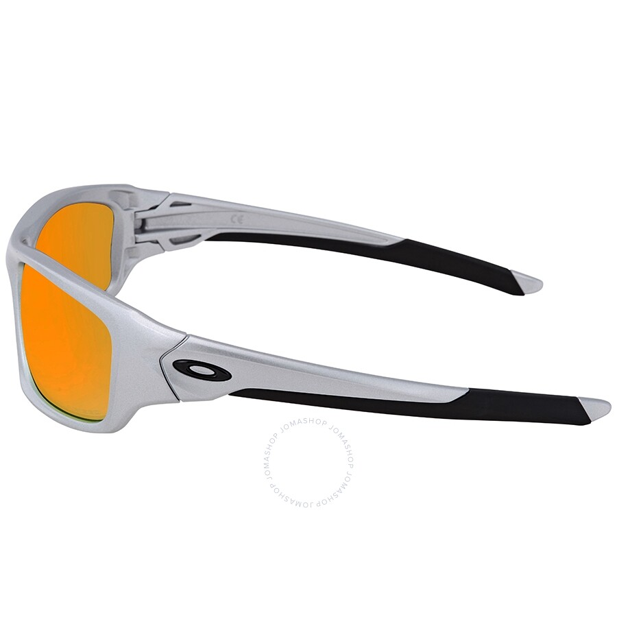 f36b80594e ... Oakley Valve Fire Iridium Polarized Rectangular Sunglasses  OO9236-923607-60