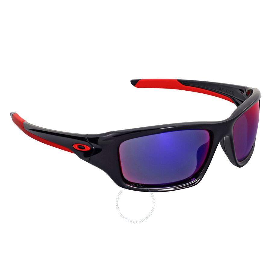 5e66eef4f6 ... Oakley Valve Positive Red Iridium Men s Sunglasses OO9236-923602-60 ...