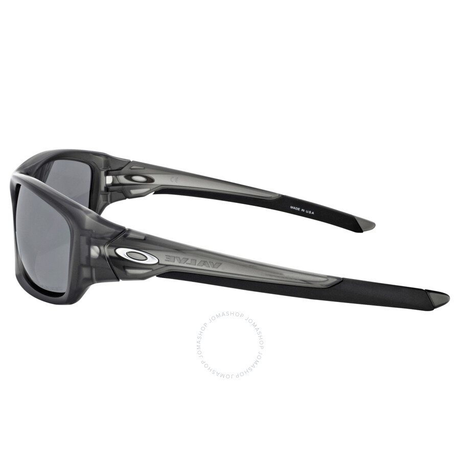 0e89aa63cdf ... Oakley Valve Sunglasses - Matte Grey Smoke  Black Iridium Polarized ...