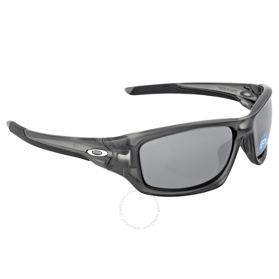 2af42bb888 Oakley Valve Sunglasses - Matte Grey Smoke  Black Iridium Polarized ...