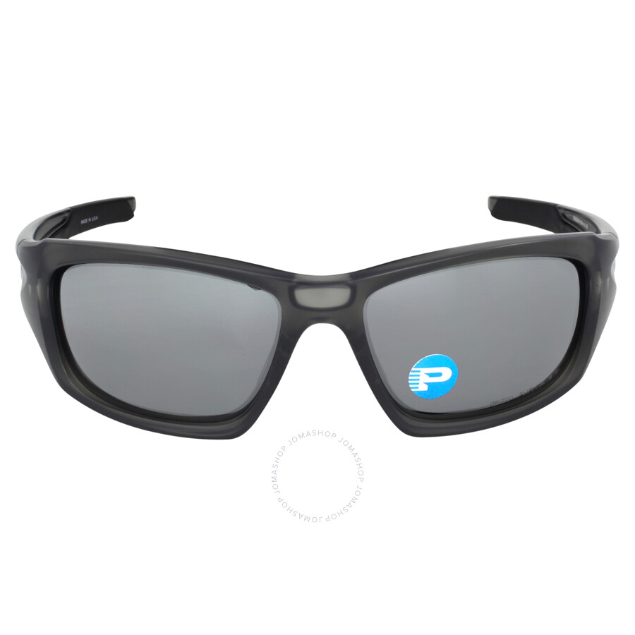22783aa6026 Oakley Valve Sunglasses - Matte Grey Smoke  Black Iridium Polarized Item  No. OO9236-923606-60