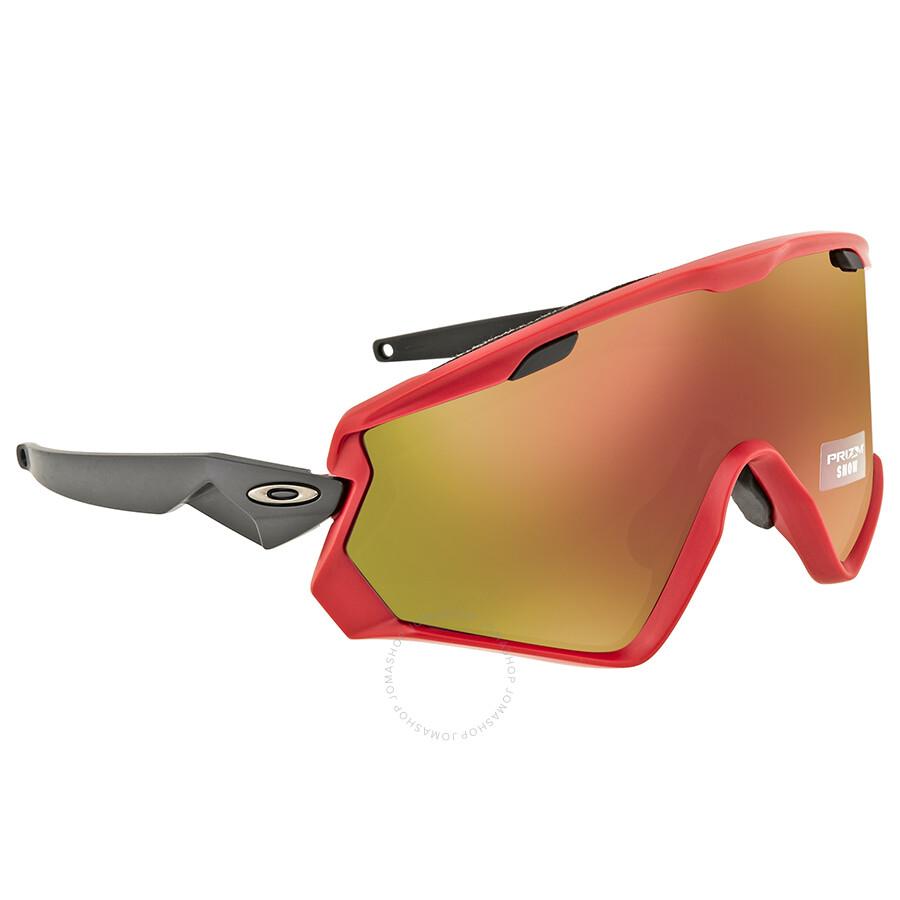 077f4a57df2ef Oakley Wind Jacket 2.0 Prizm Snow Torch Iridium Sport Sunglasses OO9418  941806 45 ...