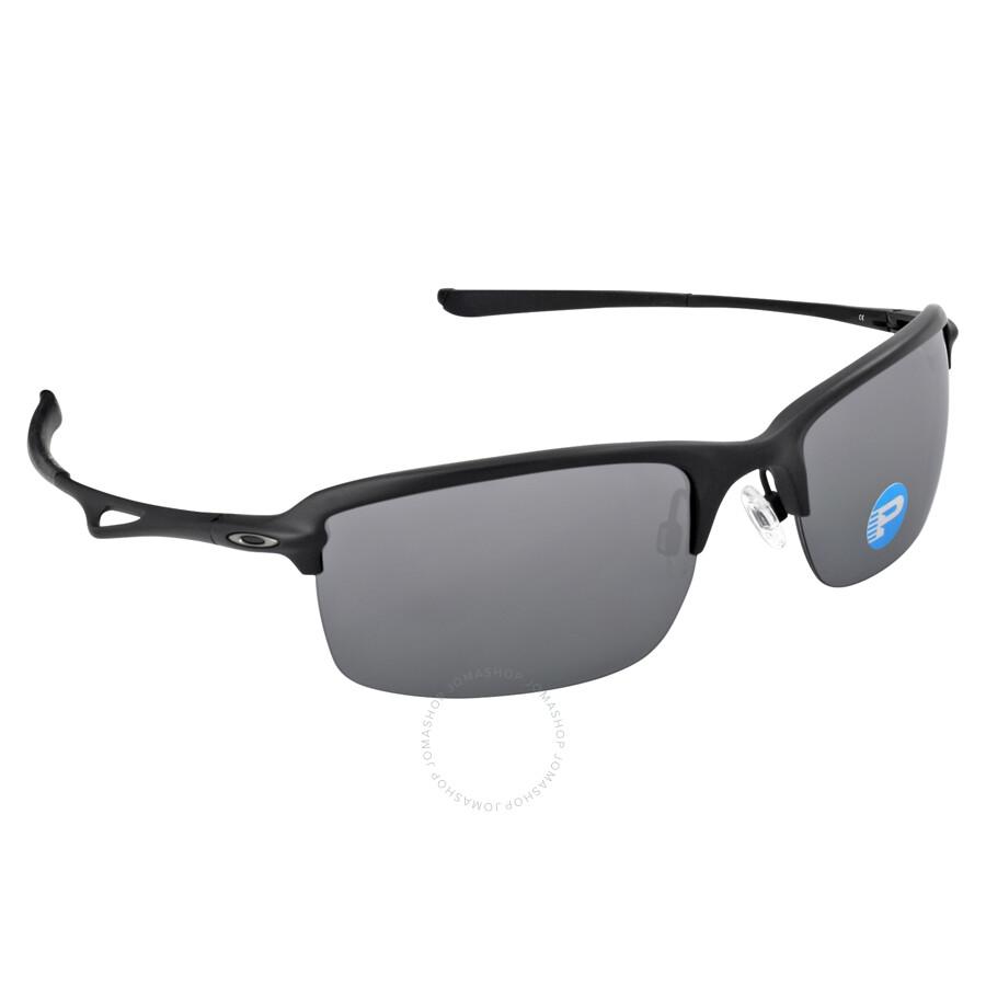 Rimless Glasses Oakley : Oakley Wiretap Semi-Rimless Sunglasses - Matte Black/Black ...