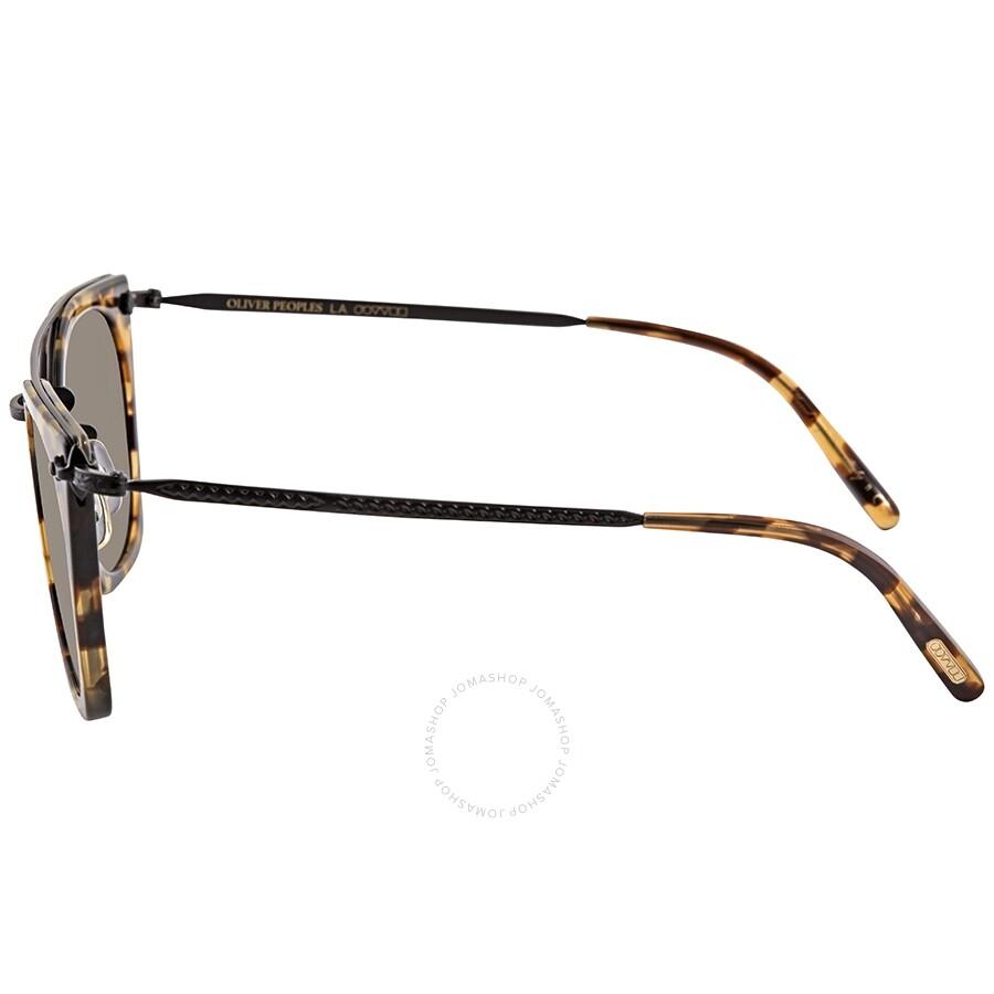915c4d1501236 ... Oliver Peoples Dacette Graphite Gold Mirror Square Ladies Sunglasses  OV5370S 1550Y9 50