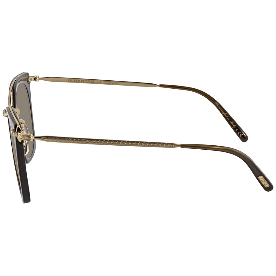 e9db7f02f0e9e ... Oliver Peoples Dacette Graphite Gold Mirror Square Ladies Sunglasses  OV5370S 1576Y9 50