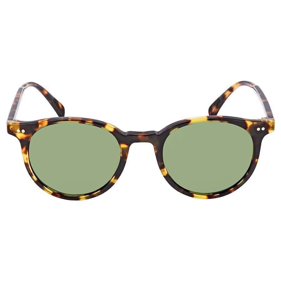 f76e5169ae001 ... Oliver Peoples Delray Sun Green C Round Unisex Sunglasses OV5314SU  140752 48 ...