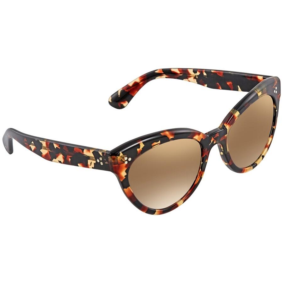 eea4cfa961 Oliver Peoples Roella Bronze Flash Gradient Cat Eye Ladies Sunglasses  OV5355SU 16046U 55 ...
