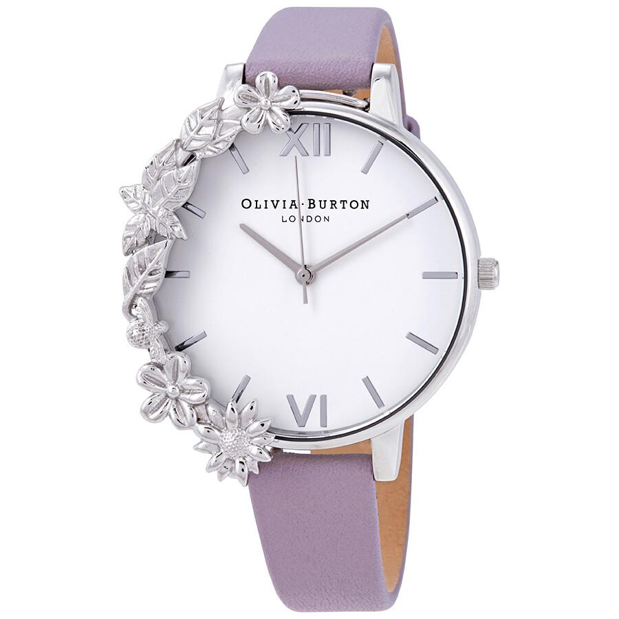ccc454103 Olivia Burton Case Cuff White Dial Ladies Watch OB16CB05 - Olivia ...