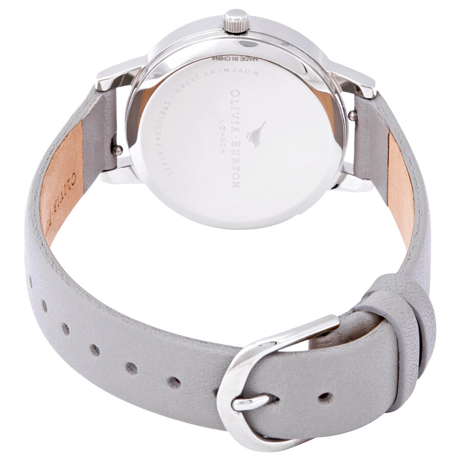 8f8495e5d ... Olivia Burton Lace Detail Grey Mother of Pearl Dial Ladies Watch  OB16MV93