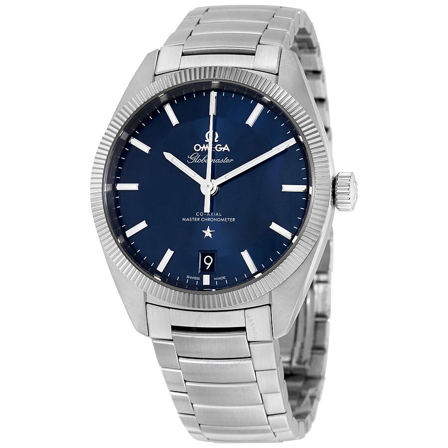 Omega constellation automatic blue dial men 39 s watch 13030392103001 constellation omega for Omega watch constellation