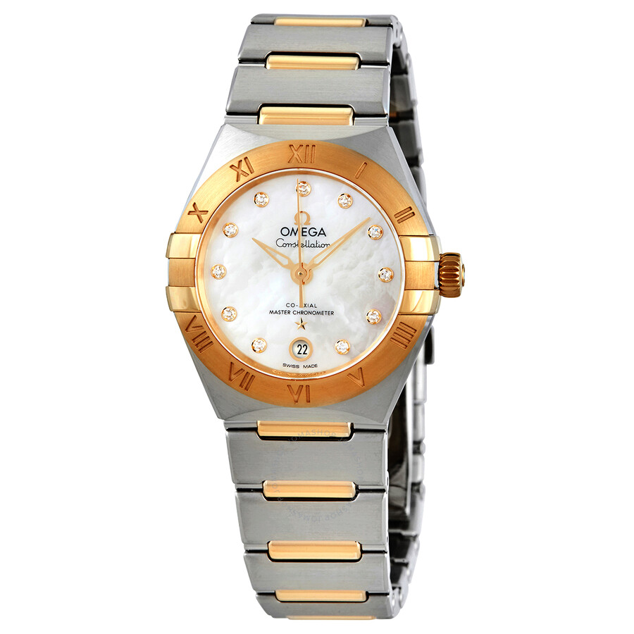 Constellation Automatic Diamond Silver Dial Ladies Watch 131.20.29.20.52.002