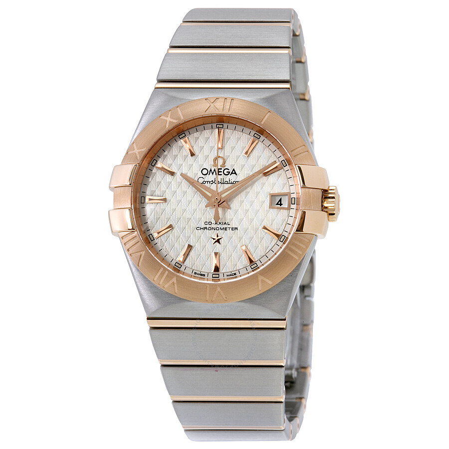 Omega Constellation Automatic Silver Dial Two-tone Stainless Steel Men's  Watch 123.20.35.20.