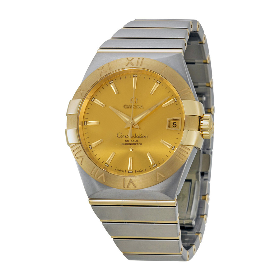Omega constellation chronometer automatic men 39 s watch 12320382108001 constellation omega for Omega watch constellation