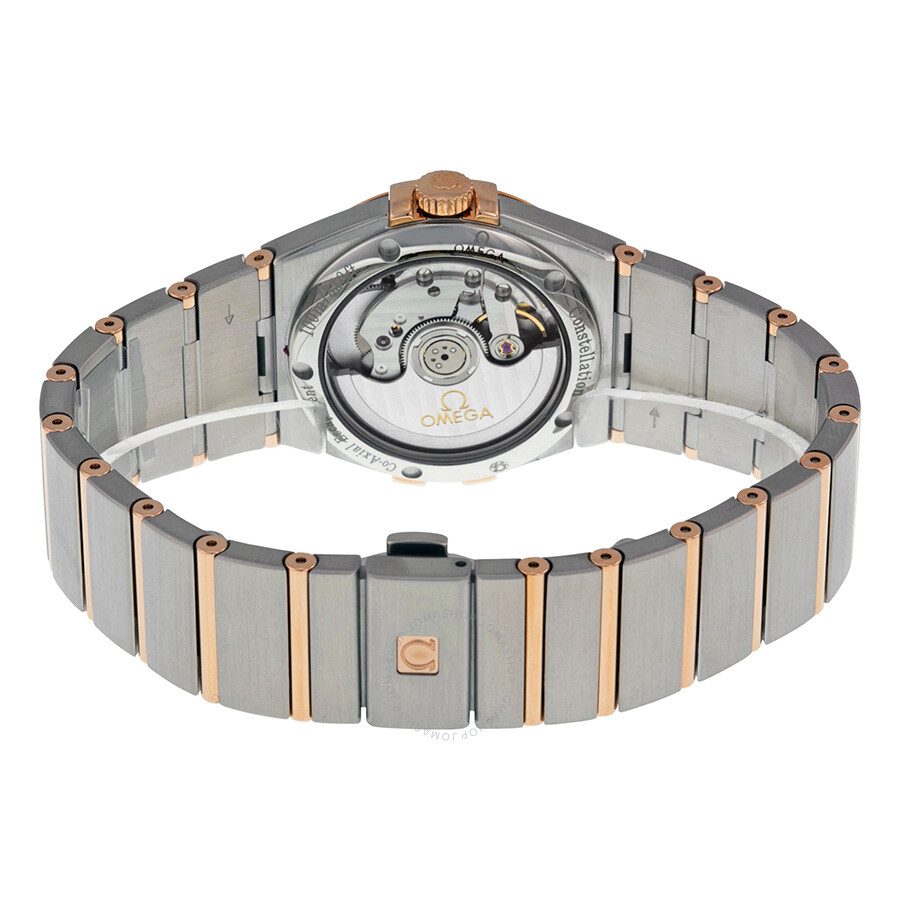 17a31cb0e007d ... Omega Constellation Chronometer Automatic Silver Dial 18kt Gold and  Stainless Steel Ladies Watch
