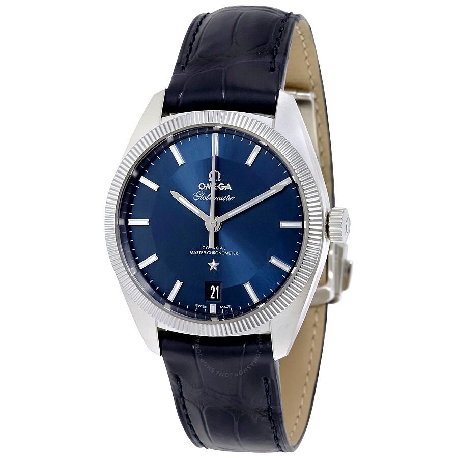Omega constellation globemaster automatic men 39 s watch 13033392103001 constellation omega for Omega watch constellation
