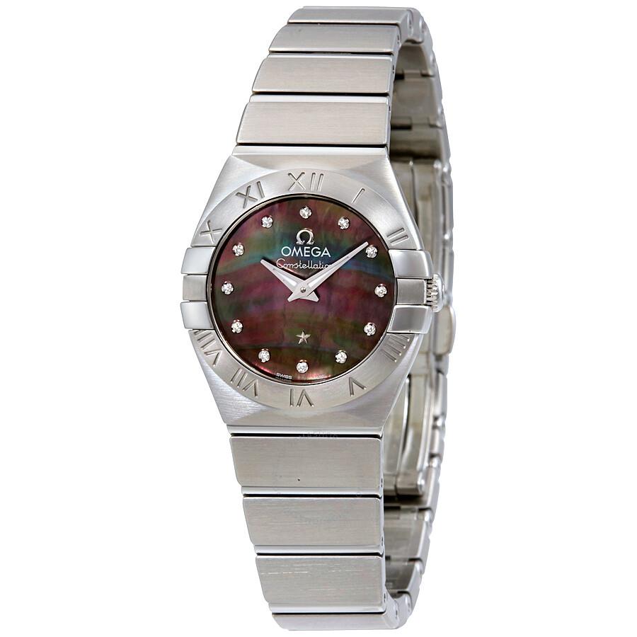 Omega Constellation Ladies Watch 123.10.24.60.57.003 ...