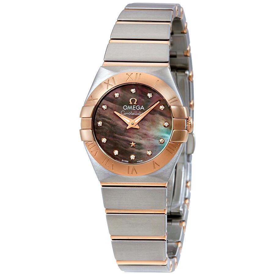 Omega Constellation Ladies Watch 123.20.24.60.57.005 ...