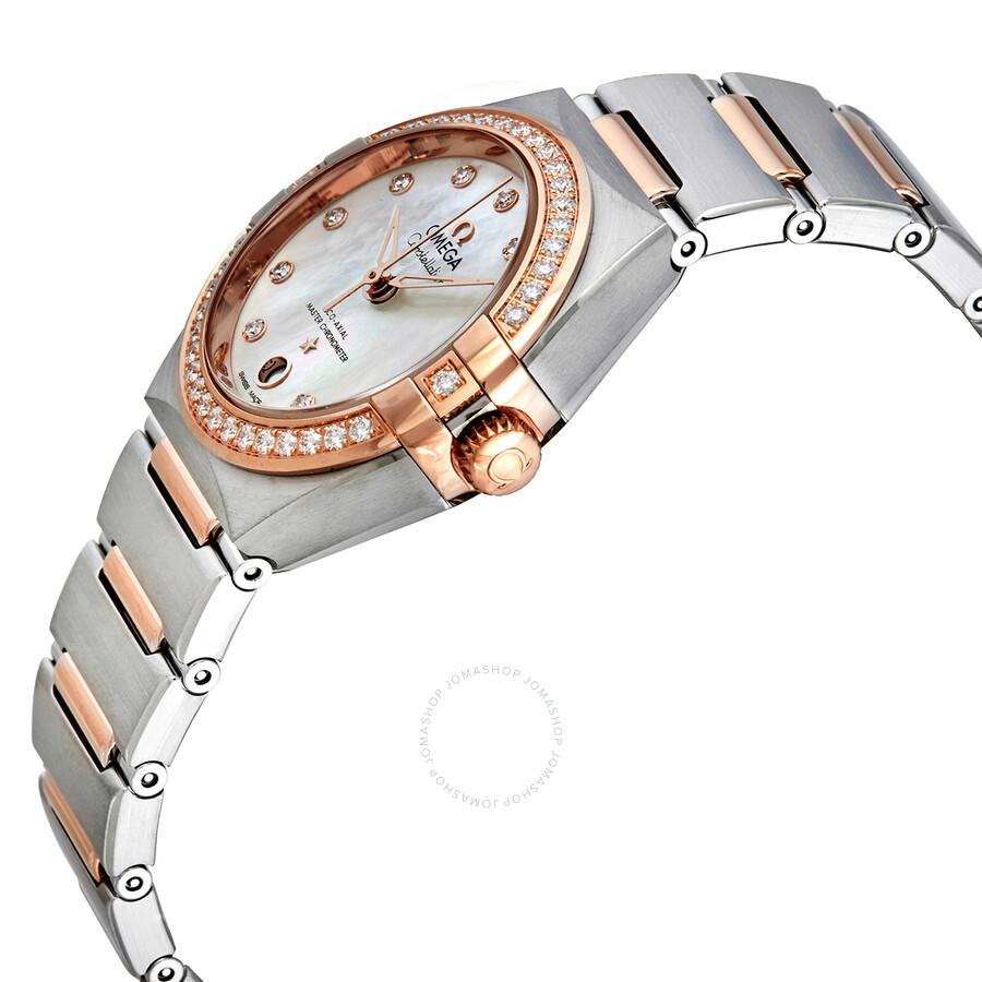 Constellation Manhattan Automatic Diamond Ladies Watch 131.25.29.20.55.001