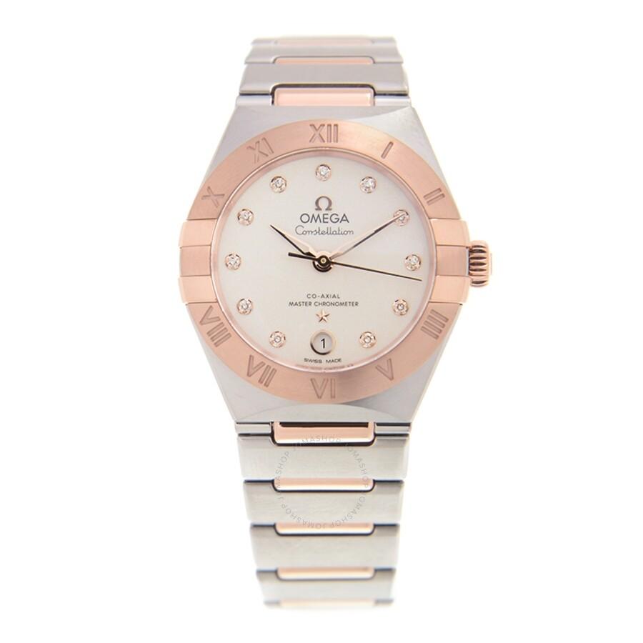 Omega Constellation Manhattan Quartz Diamond Ladies Watch 131 20
