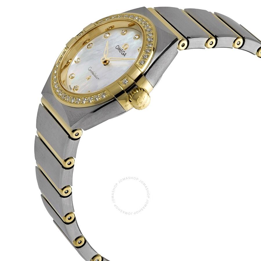 Constellation Manhattan Diamond Mother of Pearl Dial Ladies Watch 131.25.28.60.55.002