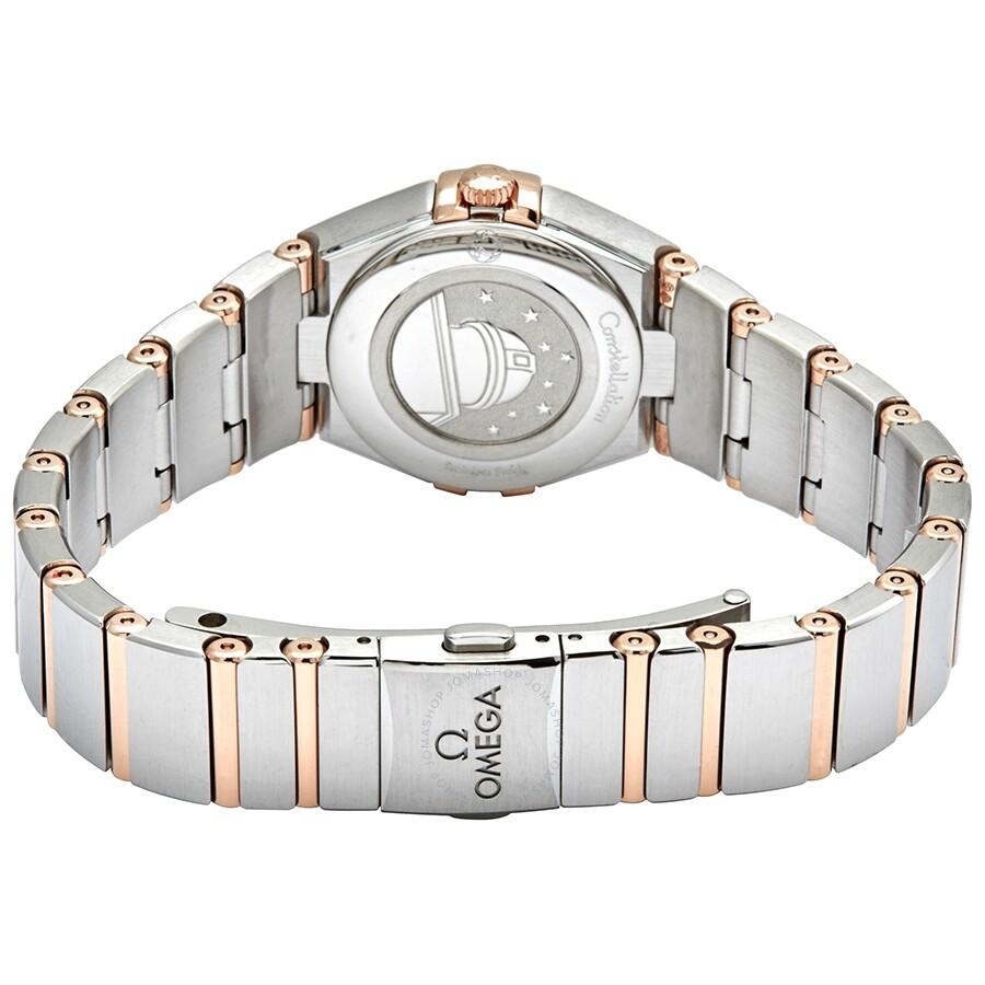 Constellation Manhattan Quartz Silver Dial Ladies Watch 131.20.25.60.02.001