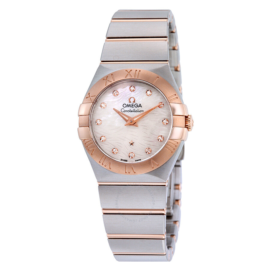 fa1f745361f Omega Constellation Mother Of Pearl Dial Quartz Ladies Watch  123.20.27.60.55.007 ...