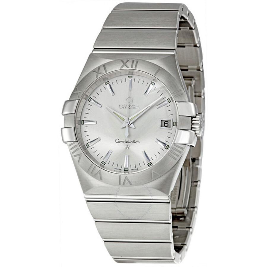 6b9b0e0622d7 Omega Constellation Quartz 35mm Men s Watch 123.10.35.60.02.001 ...
