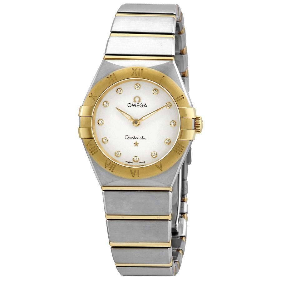 Constellation Quartz Diamond Silver Dial Ladies Watch 131.20.28.60.52.002