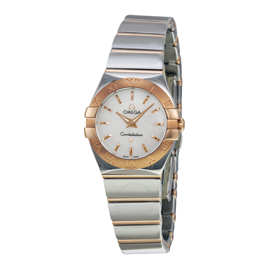 Omega Constellation White Mother of Pearl Dial Stainless ...