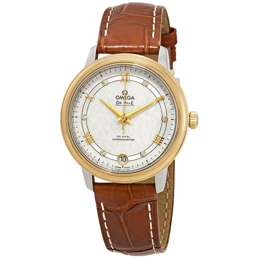 9ddc294a9982 Omega De Ville Prestige Automatic Ladies Watch Item No. 424.23.33.20.52.001