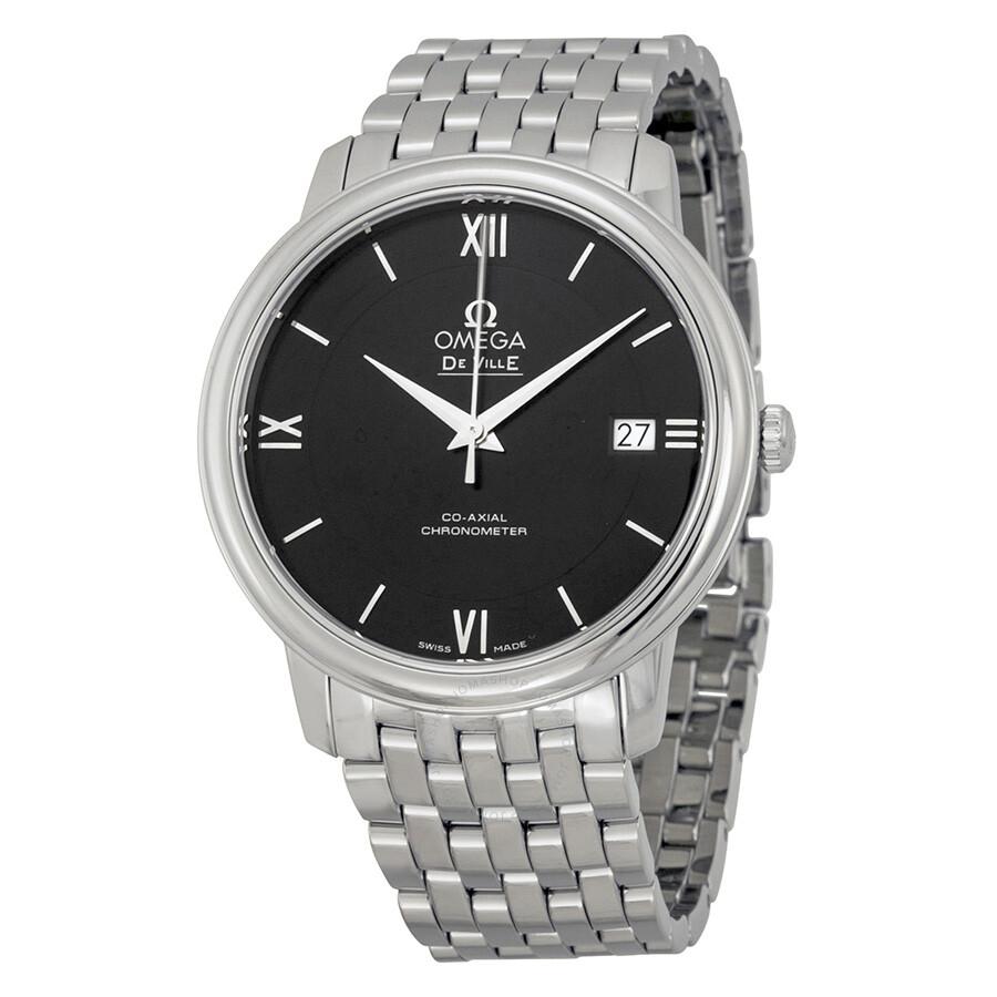 604be3ac5 Omega De Ville Prestige Co-Axial Automatic Unisex Watch 424.10.37.20.01.001  ...