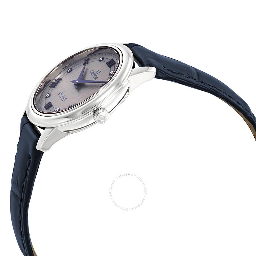 De Ville Prestige Diamond Grey Dial Ladies Watch 424.13.27.60.56.001