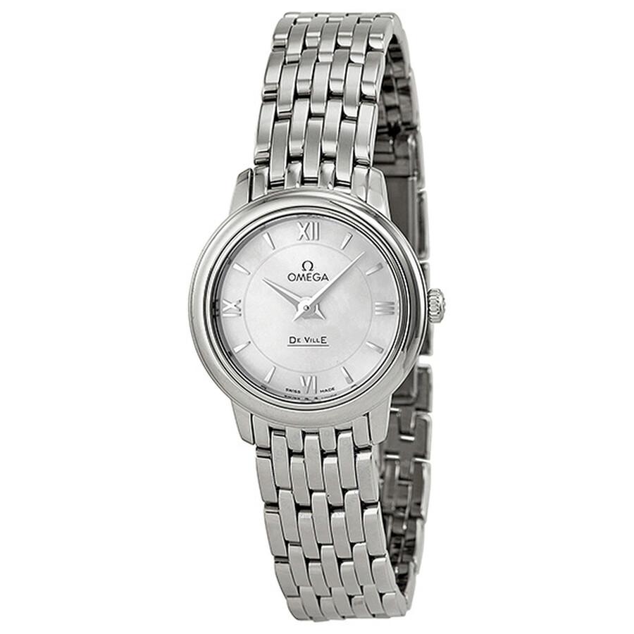 2ae0f1c92b82 Omega De Ville Prestige Ladies Watch 42410246005001 - De Ville ...