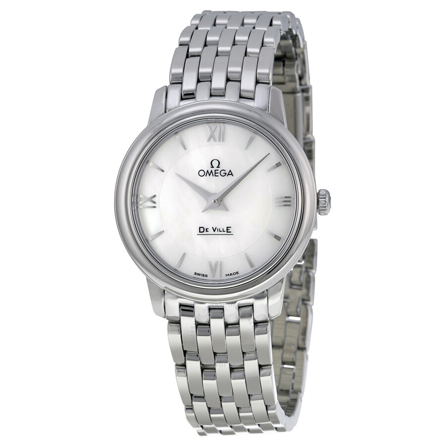 Omega De Ville Prestige Mother of Pearl Dial Ladies Watch  424.10.27.60.05.001 ... 7a209add3