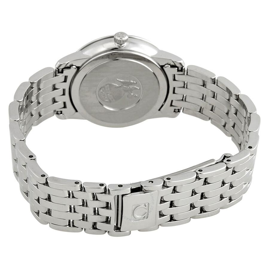De Ville Prestige White Silvery Diamond Dial Ladies Watch 424.10.27.60.52.002