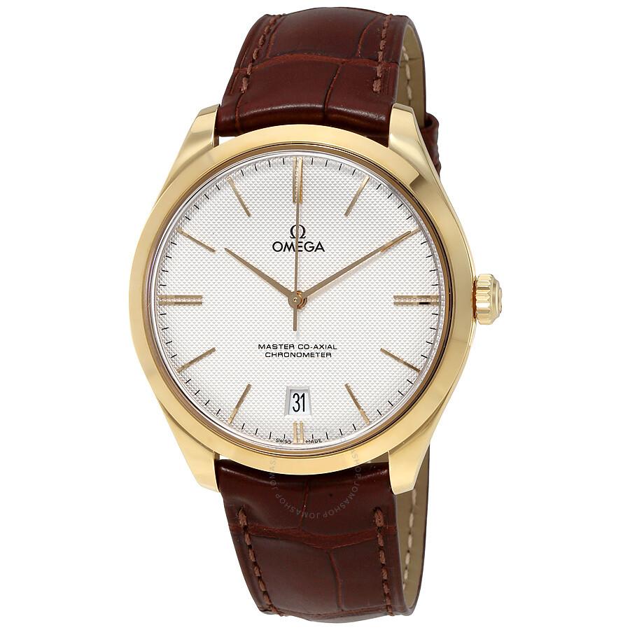 c1d35b6f39e Omega De Ville Tresor Silver Dial Men's Watch 43253402102001 - De ...