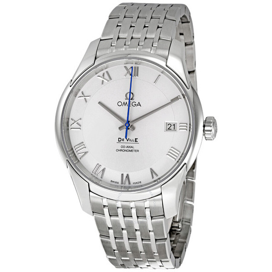 omega deville co axial stainless steel men s watch 431 10 41 21 omega deville co axial stainless steel men s watch 431 10 41 21 02 001