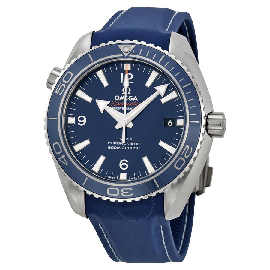 d821d78d4 Omega Planet Ocean Titanium Co-Axial Blue Dial Men s Watch  232.92.42.21.03.001 ...