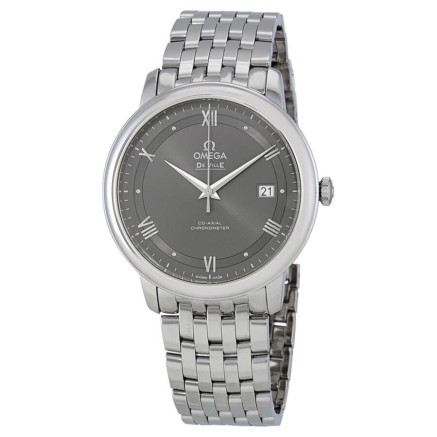 e987192124e Omega De Ville Prestige Co-Axial Automatic Men s Watch 424.10.40.20.06.001  ...