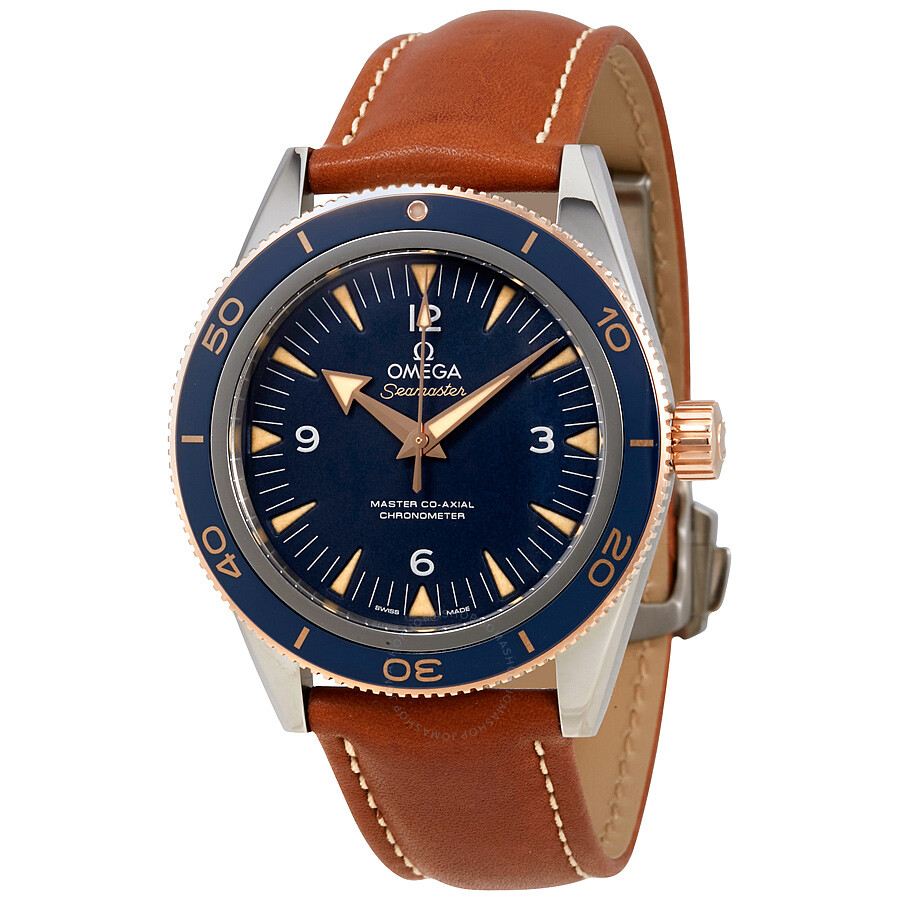 ea60eaa83300 Omega Seamaster 300 Automatic Blue Dial Men s Watch 233.62.41.21.03.001 ...