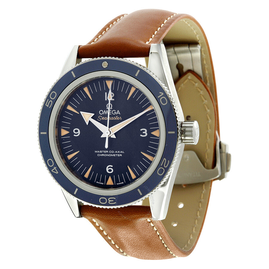 Omega Seamaster 300 Automatic Blue Dial Men's Watch 233.92.41.21.03.001 ...