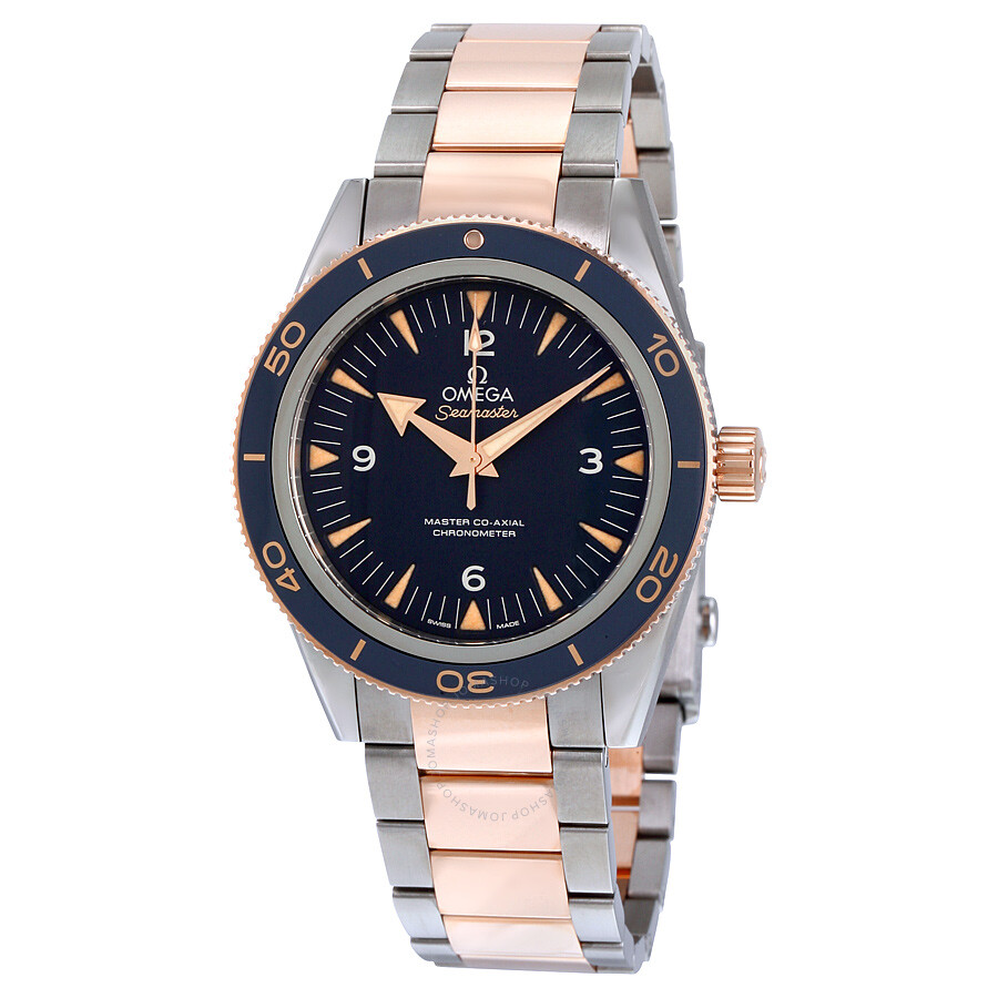 Omega Seamaster 300 Automatic Blue Dial Men's Watch ...