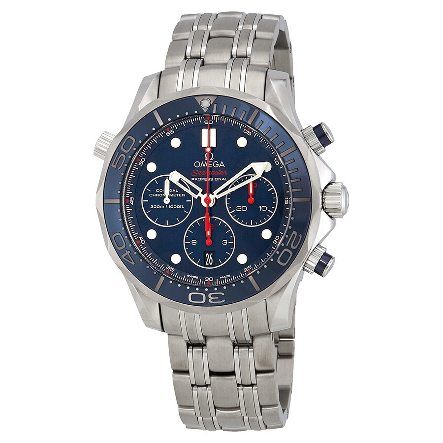 Omega Seamaster Chronograph Automatic Chronometer Blue ...